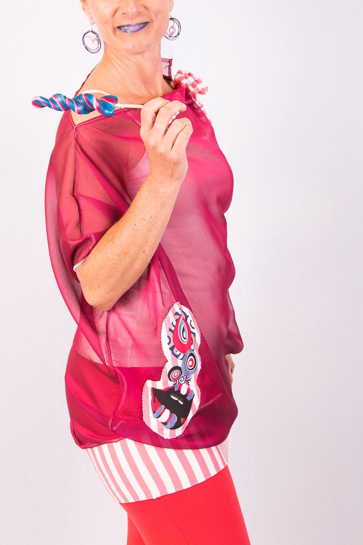 Blouse Dragée rose