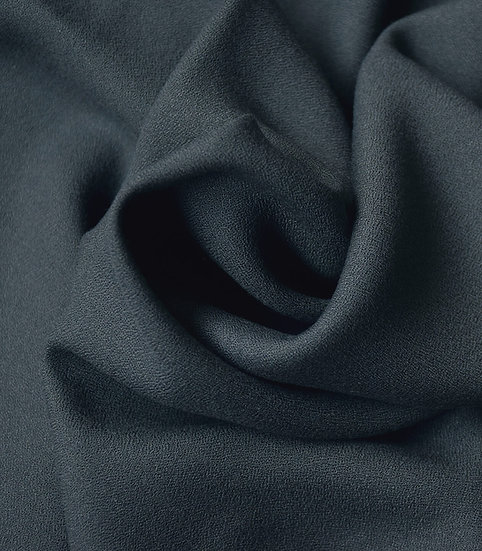 Cousette - Crêpe viscose anthracite