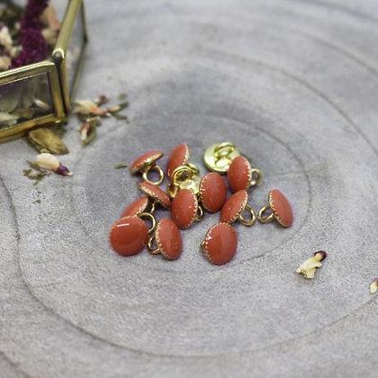 Atelier Brunette - Bouton Chestnut Gem