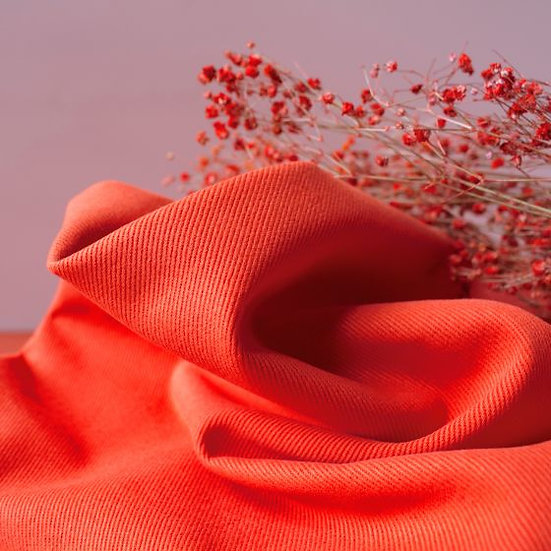 Atelier Brunette - Gabardine Tangerine