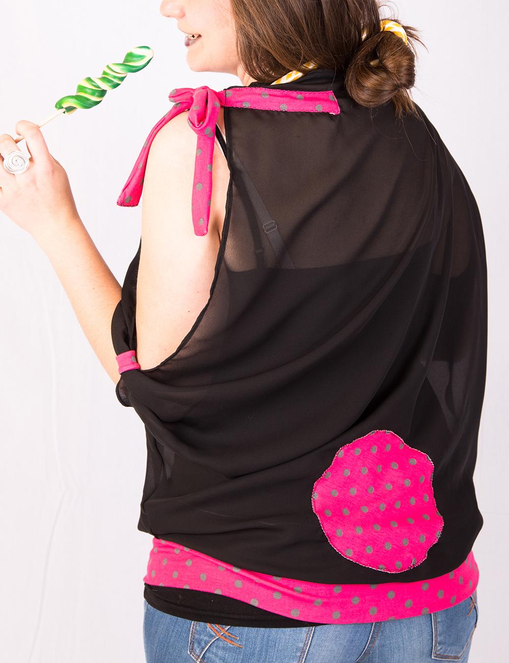 Blouse Dragée noire