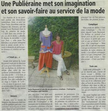 Article de Presse - Le Dauphiné