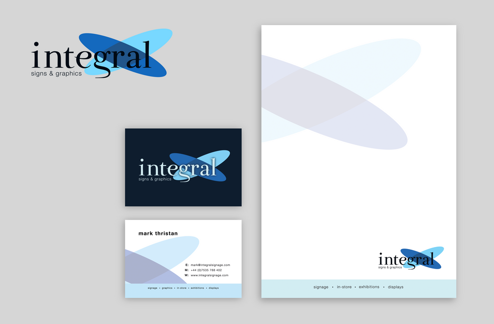 Integral Signs & Graphics