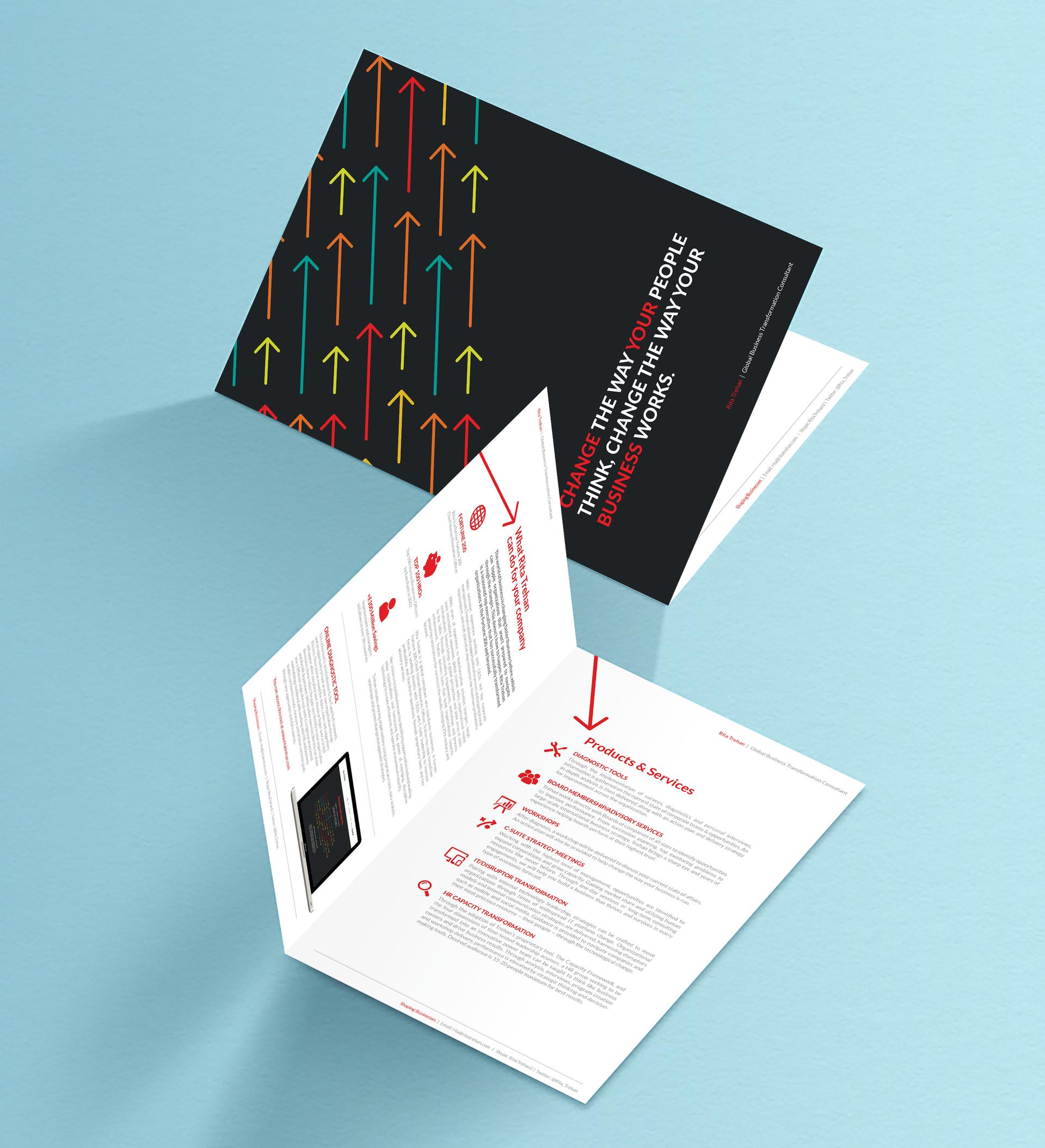 Bi-fold leaflet design