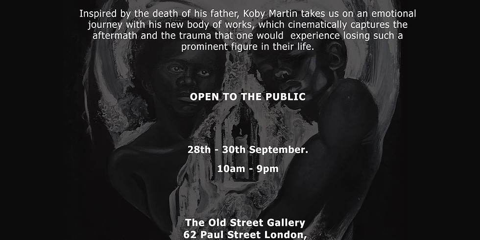"""Old Street Gallery presents Cancer Research UK feature by Koby Martin """"ASIAMAH"""" (1)"""