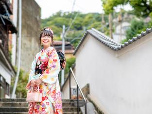 成人式の写真(広島県尾道市)