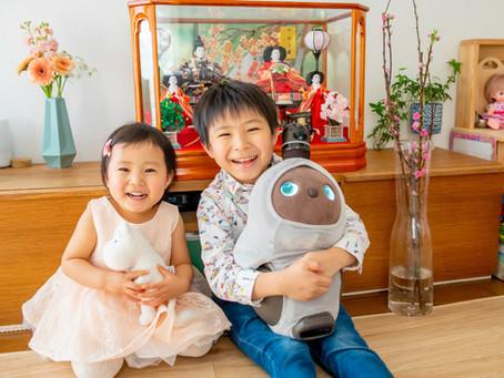 子どもと家族の写真(東京都豊島区)