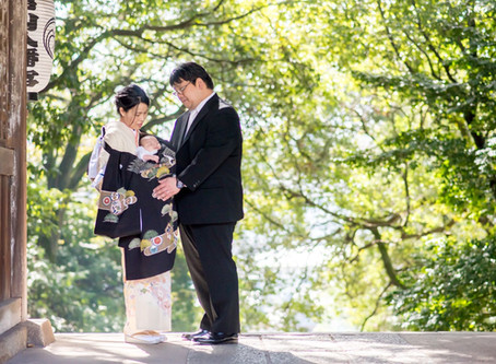 お宮参りの写真(広島県福山市)