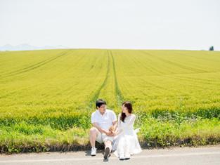 Y&Nさま(前撮り@北海道美瑛町)