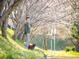 子どもと家族の写真(愛知県一宮市)