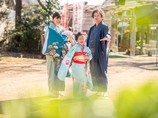 七五三とお宮参りの写真(埼玉県和光市)