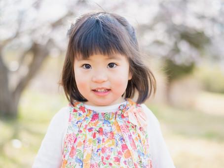 子どもと家族の写真(大阪府吹田市)