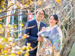 お宮参りの写真(北九州市八幡東区)