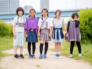 子どもと家族の写真(川崎市高津区)