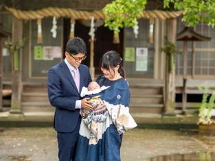 お宮参りの写真(香川県高松市)