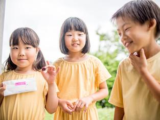 子どもと家族の写真(埼玉県朝霞市)