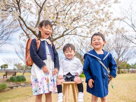 入園・入学の写真(静岡県吉田町)