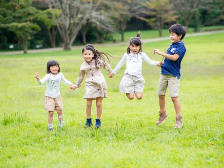 子どもと家族の写真(栃木県宇都宮市)