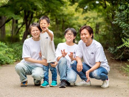 子どもと家族の写真(京都市下京区)