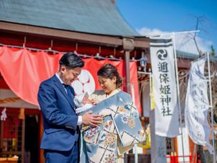 お宮参りの写真(広島市南区)