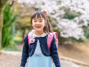入園入学の写真(静岡市駿河区)