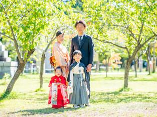 七五三の写真(札幌市中央区)