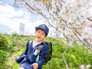 入園・入学の写真(岡山市中区)