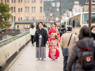 前撮りの写真(京都市)