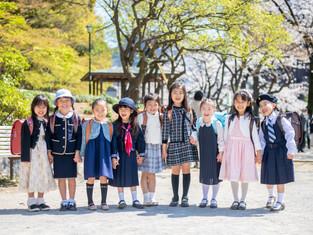 入園入学の写真(東京都文京区)