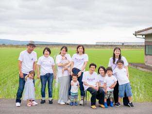 子どもと家族の写真(長崎県諫早市)