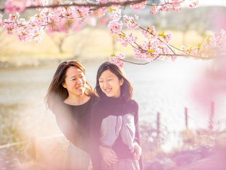 子どもと家族の写真(東京都墨田区)