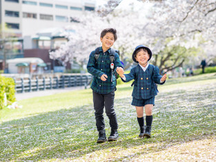入園入学の写真(横浜市中区)