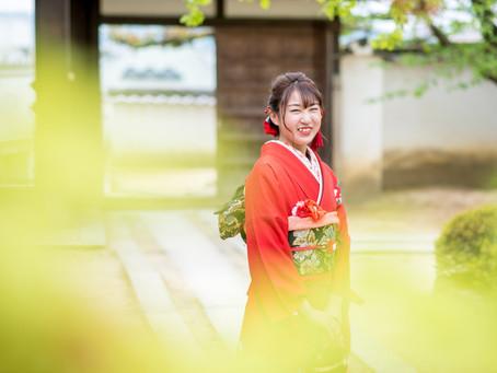 成人式の写真(岡山県倉敷市)
