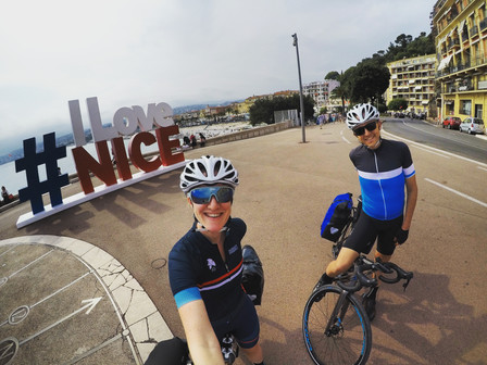 Nice to Milan - the logistics of cycle touring