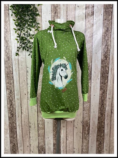 """Hoodie -Shirt """"Horseland Green""""                                            42/44"""
