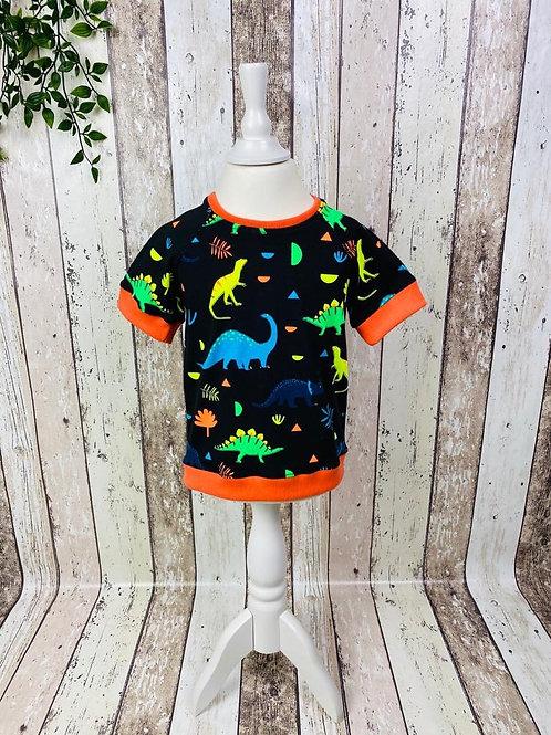 """Shirt """"Neondino"""" Gr. 92"""