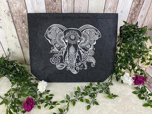 "Filztasche ""Elefant"""
