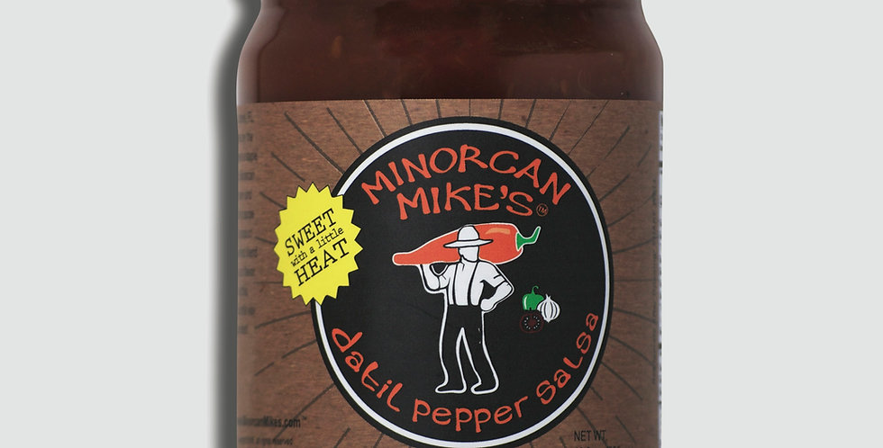 Minorcan Mike's Datil Pepper SALSA