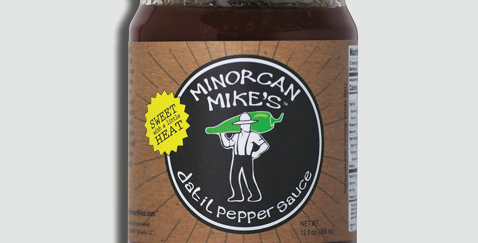 Minorcan Mike's Datil Pepper SAUCE