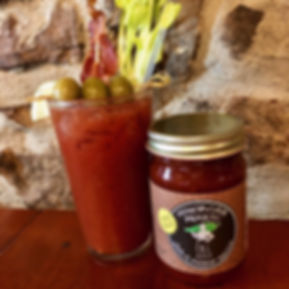 Minorcan Mike's Drinks Bloody Mary Brunch Breakfast Tailgate Minorcan Mike Datil Pepper Sauce Salsa Pepper Jelly Hot Sauce St Augustie Florida
