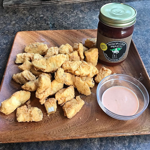 Minorcan Mike's Entrees Appetizers Sides Datil Pepper Jelly Salsa Sauce Dip Recipes Minorcan Mike St Augustine Florida