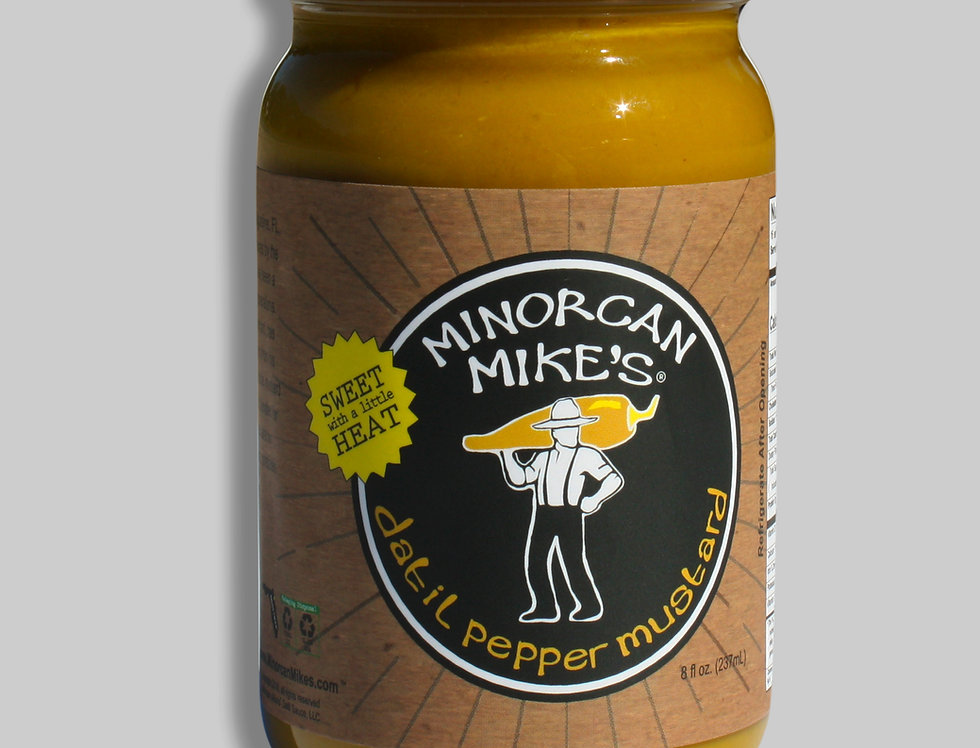 Minorcan Mike's Datil Pepper MUSTARD