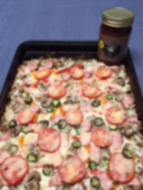 Minorcan Mike's Datil Sauce Meat Crust Pizza Recipe