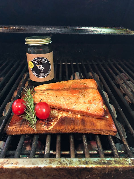 Minorcan Mike's Datil Jelly Salmon Recipe