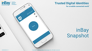 inBay's next generation Digital Identity Platform, idQ® Enterprise, delivers all 3 foundational elements for a complete digital identity solution:Real-Time Identity Assurance (ID Proofing), Zero-Password Authentication, Delegated Authorization.