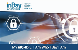 inBay has solved the digital identity problem by creating a digital identity that can't be stolen, because there's nothing to steal. As a leading-edge cybersecurity start-up, inBay is driving a revolution in digital identities, having pioneered the first truly passwordless authentication solution for a mobile connected world. We're on a mission to make the Internet a safer place, beginning with #GoPasswordless