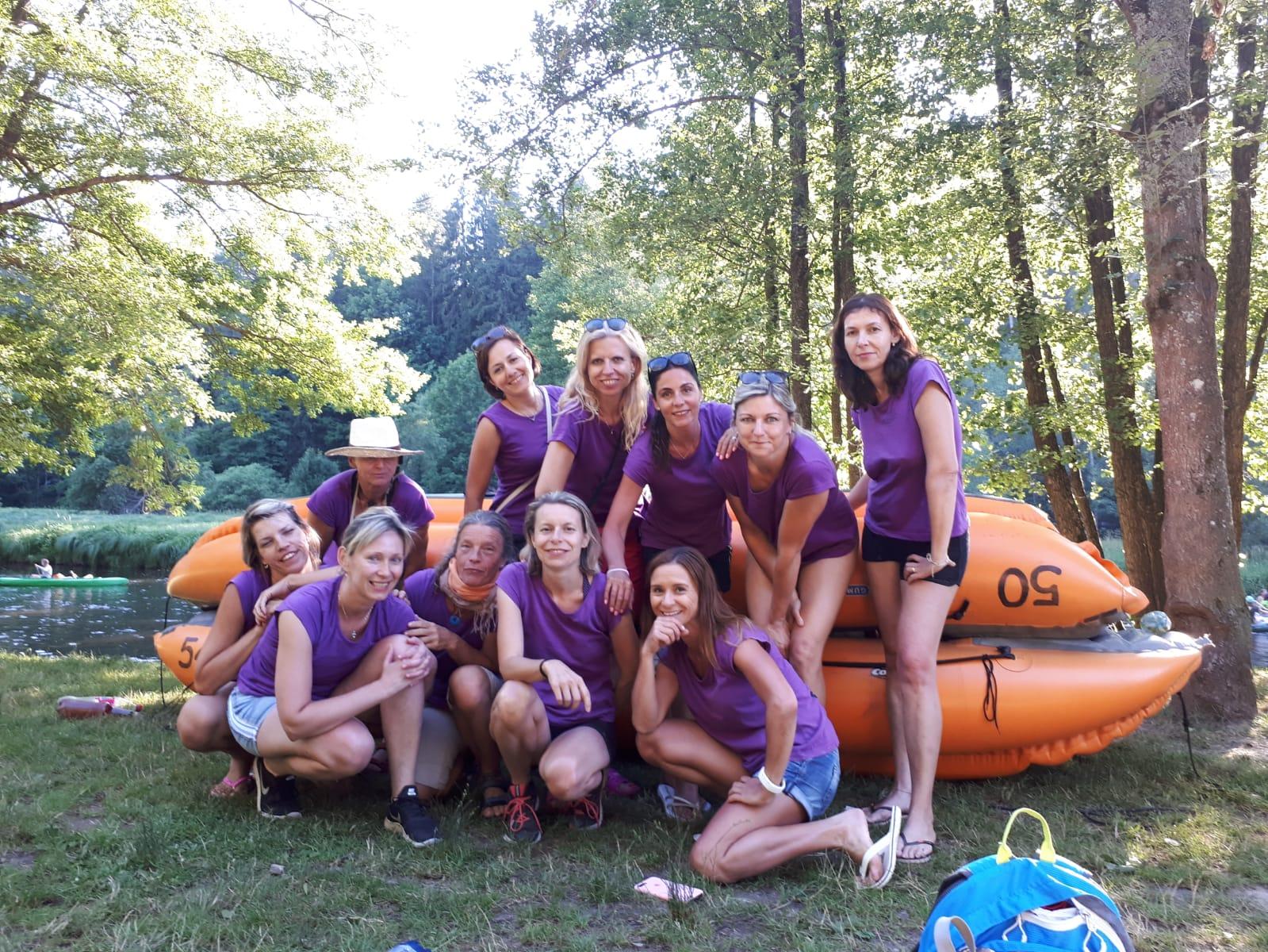 Ženy 2019 na vodě