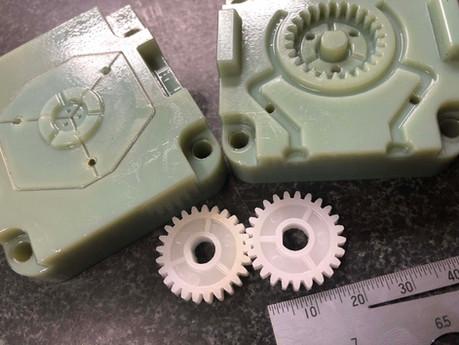 デジタルモールド 歯車成形