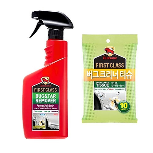 Bullsone First Class Bug and Tar Remover & Bug Cleaner Tissue