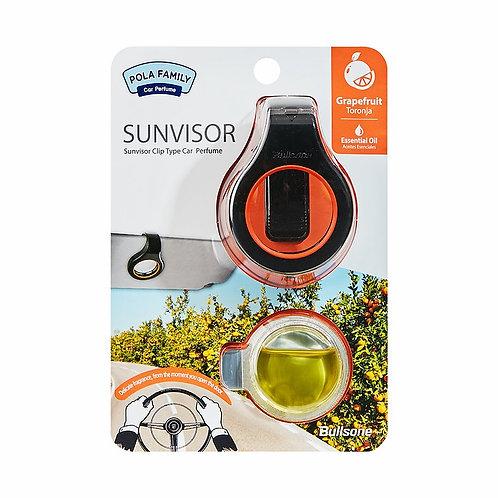 Bullsone Pola Family Sun Visor Clip Type_Grapefruit